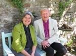 Bishop Ruth and Bishop Peter