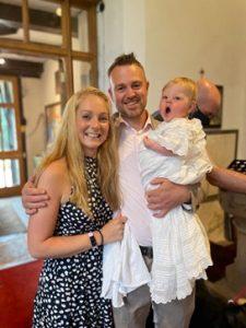 Poppy's christening