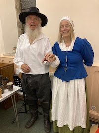Janet Few and Chris Braund